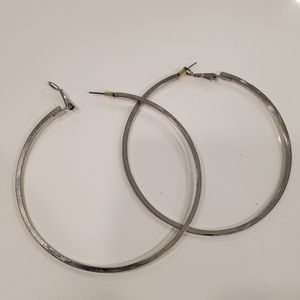 Large hoop earings